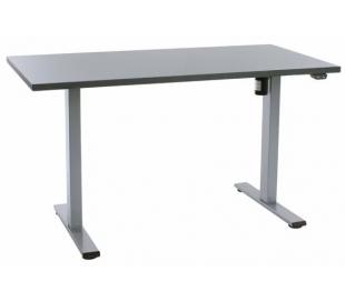EP Home hæve sænkebord 140 x 70 cm - Grå/Antracit