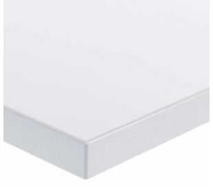 EP Home hæve sænkebord 90 x 60 cm - Sort/Hvid