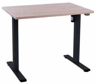 EP Home hæve sænkebord 90 x 60 cm - Sort/Eg