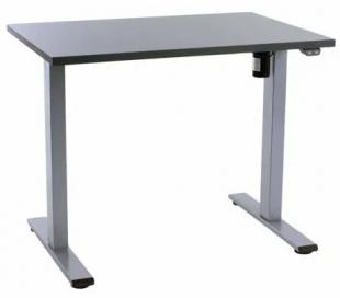 EP Home hæve sænkebord 90 x 60 cm - Grå/Antracit