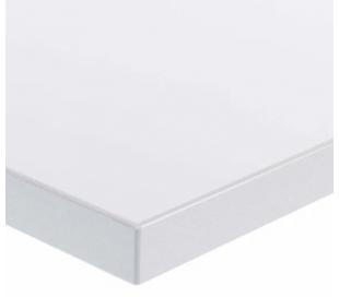 EP Home hæve sænkebord 120 x 60 cm - Sort/Hvid