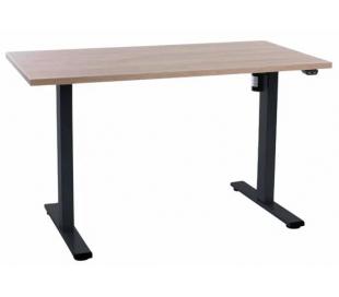 EP Home hæve sænkebord 120 x 60 cm - Sort/Eg