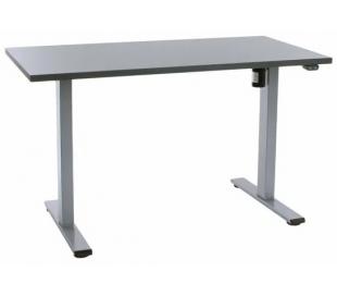 EP Home hæve sænkebord 120 x 60 cm - Grå/Antracit