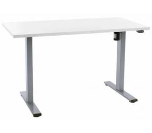 EP Home hæve sænkebord 120 x 60 cm - Grå/Hvid
