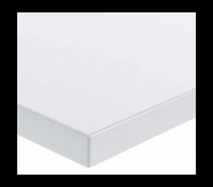 EP 6000 Hæve sænkebord 160 x 80 cm - Alu/Hvid
