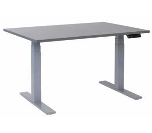 EP 6000 Hæve sænkebord 140 x 80 cm - Alu/Antracit