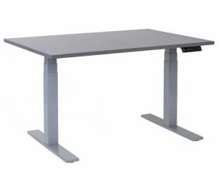 EP 6000 Hæve sænkebord 120 x 80 cm - Alu/Antracit