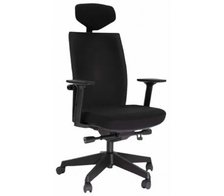Manager Soft kontorstol m/armlæn - Sort