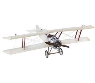 Authentic Models XXL Vintage Fly 250 x 167 cm - Poleret sølv/Hvid