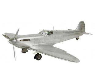 Authentic Models Spitfire Fly 76 x 61 cm - Poleret sølv