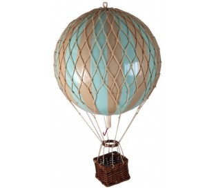 Authentic Models Jules Verne Luftballon H70 x Ø42 cm - Mint/Elfenbenshvid