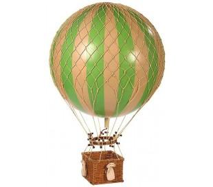 Authentic Models Jules Verne Luftballon H70 x Ø42 cm - Grøn/Elfenbenshvid