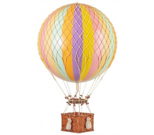 Authentic Models Jules Verne Luftballon H70 x Ø42 cm - Pastel
