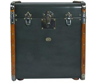 Authentic Models Kuffert sidebord 53 x 45 cm - Vintage honning/Vintage petroliumsblå