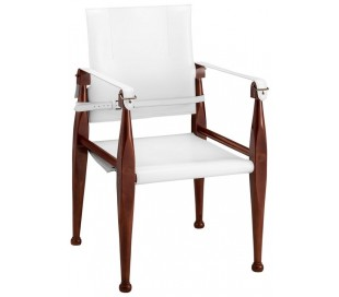 Authentic Models Spisebordsstol H89 cm - Honningbrun/Hvid