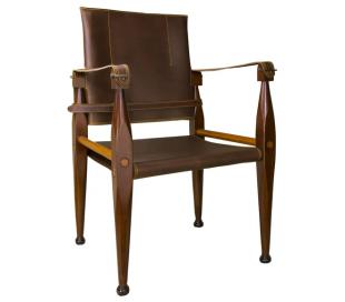 Authentic Models Spisebordsstol H89 cm - Honningbrun/Brun