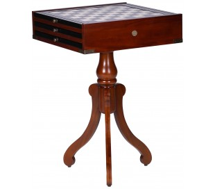 Authentic Models Spilbord 45 x 45 cm - Vintage honningbrun
