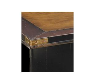 Authentic Models Skrivebord 170 x 75 cm - Vintage honningbrun/Vintage sort