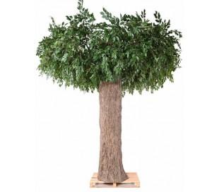 Stort kunstigt Ficus træ H370 x Ø370 cm