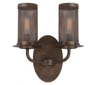 Nouvel 2 Væglampe H32 cm - Antik bronze