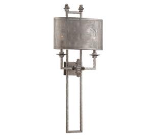 Structure 2 Væglampe H100 cm - Antik stålgrå