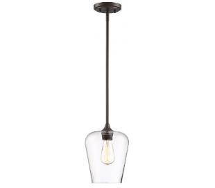 Octave 1 Loftlampe Ø22 cm - Antik bronze/Klar