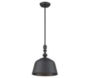 Berg 1 Loftlampe Ø30 cm - Mat sort