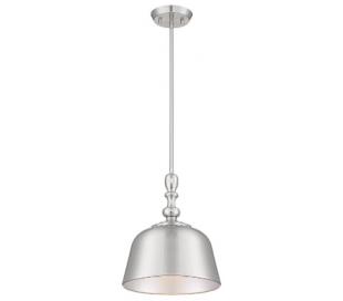 Berg 1 Loftlampe Ø30 cm - Satineret nikkel
