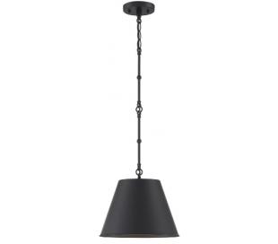 Alden 1 Loftlampe Ø30 cm - Mat sort