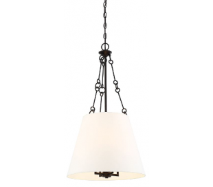 Austin 4 Loftlampe Ø46 cm - Antik bronze/Hvid