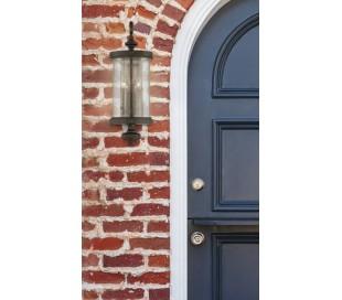 Palmer 2 Væglampe H61 cm - Patineret valnød/Klar med dråbe effekt