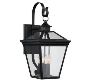 Ellijay 4 Væglampe H65 cm - Sort/Klar