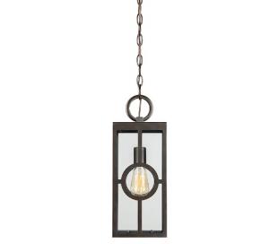 Lauren 1 Loftlampe 17 x 17 cm - Antik bronze/Klar
