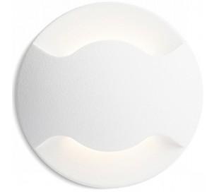 Kick ll Væglampe til indbygning Ø5 cm 3W LED - Hvid