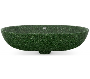 Woodio håndvask 60 x 40 cm ECO - Mosgrøn