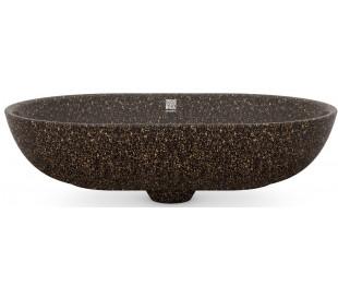 Woodio håndvask 60 x 40 cm ECO - Brun