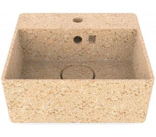 Woodio håndvask 40 x 40 cm ECO - Natural aspen