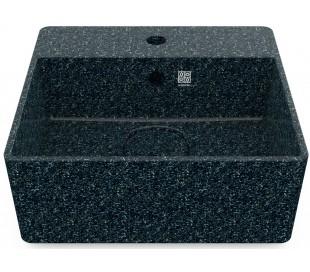 Woodio håndvask 40 x 40 cm ECO - Arktisk blå