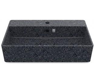 Woodio håndvask 60 x 40 cm ECO - Stengrå