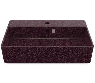 Woodio håndvask 60 x 40 cm ECO - Bær rød