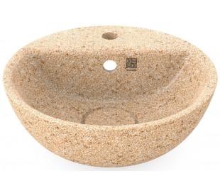 Woodio håndvask Ø40 cm ECO - Natural aspen