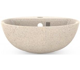 Woodio håndvask Ø40 cm ECO - Polar hvid