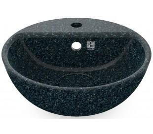 Woodio håndvask Ø40 cm ECO - Arktisk blå