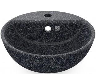 Woodio håndvask Ø40 cm ECO - Stengrå