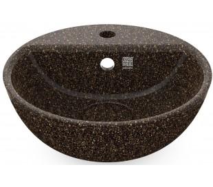 Woodio håndvask Ø40 cm ECO - Brun