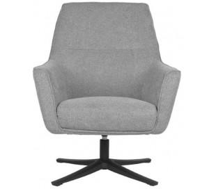 Tod rotérbar lænestol i polyester H90 cm - Grå