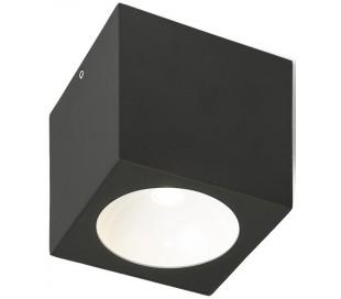 SENZA SQ udendørs påbygningsspot 6W LED - Antracit