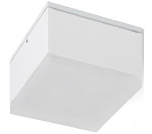 ORIN SQ Badeværelseslampe spot 10W LED - Hvid/Satineret