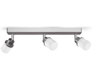 LINN Badeværelseslampe B40 cm 3 x G9 LED - Krom/Opalhvid