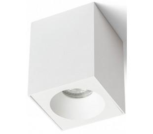 KIM Badeværelseslampe spot 9 x 9 cm 1 x GU10 - Hvid